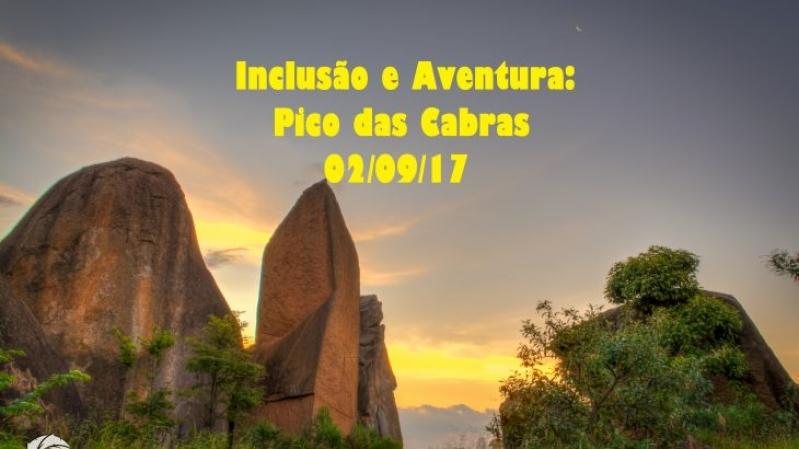 Inclusão e Aventura: Pico das Cabras!
