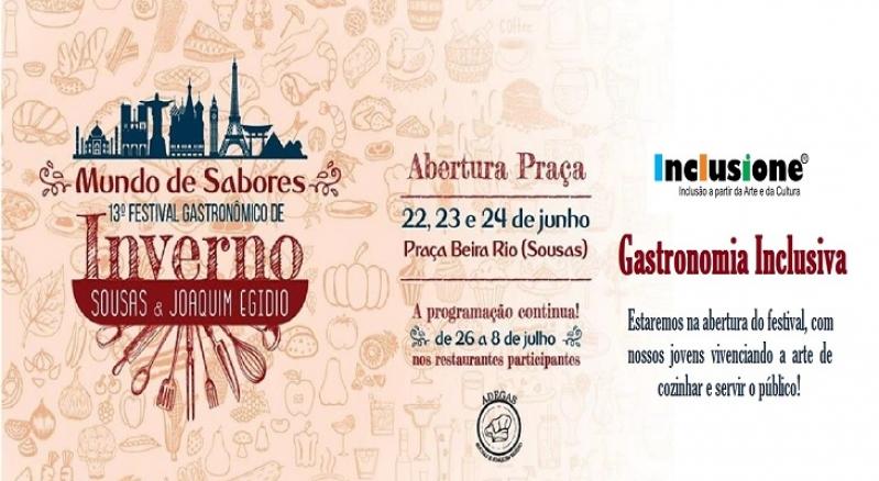 13 Festival Gastronômico de Sousas e Joaquim Egídio!