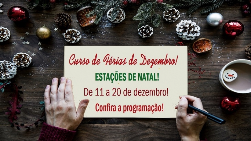 Curso de Férias de Dezembro!