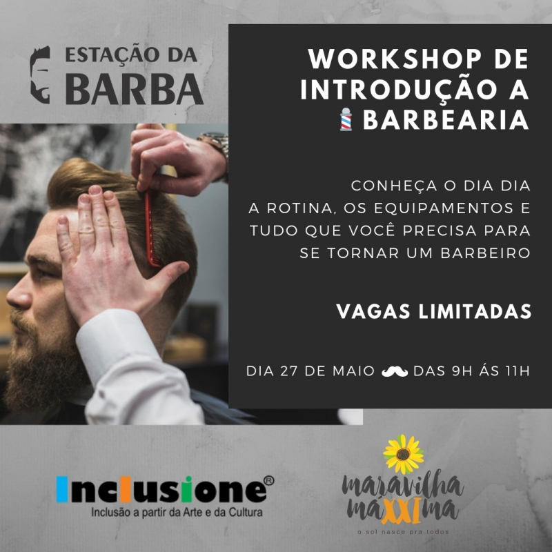 Workshop de Introdução à BARBEARIA!