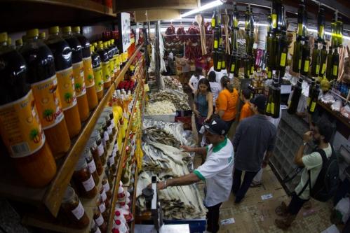24/03/2018 - Inclusione Cidade a Fora - Vivência no Mercado Municipal de Campinas!
