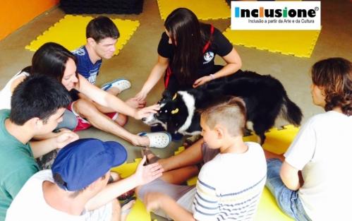 22/01/2018 - Vivência com Cão terapeuta!