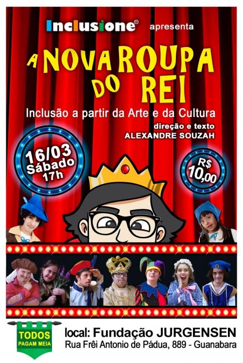 Apresentação do nosso teatro A NOVA ROUPA DO REI!