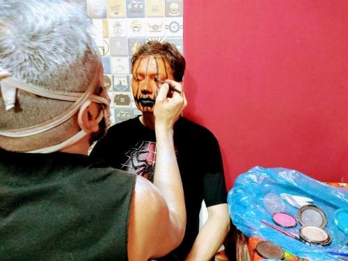 19/10/10 - Oficina de Maquiagem 3D - HALLOWEEN 2019